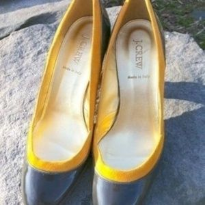 J.Crew Isabella Suede Leather Pumps Made in Italy